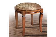 Банкетка деревянная круглая (светлый орех-патина) Микс Мебель, фото 1