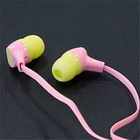 Наушники AIYALE A25 (Розовый) вакуумные вставные для смартфона самсунга айфона 3,5 iphone samsung