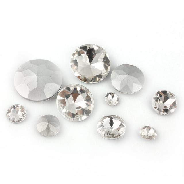 СТРАЗЫ кабошоны , камень кристалл для декора
