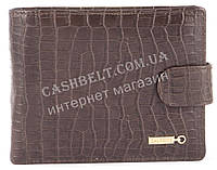 Прочный удобный кошелек с визитницей из натуральной качественной кожи  SALFEITE art. 2257SL-D72 коричневый