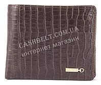 Прочный удобный кошелек из натуральной качественной кожи  SALFEITE art. 2173CSL-D72 коричневый