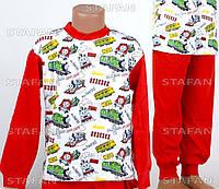 Детская пижама на мальчика интерлок AYL D27 6-R. Размер на 6 лет.