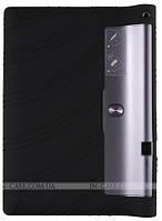 Силиконовый чехол для Lenovo Yoga Tablet 3 Pro X90F Black + защитная пленка