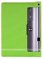 Силиконовый чехол для Lenovo Yoga Tablet 3 Plus YT-X703F / YT-X703L Green + защитная пленка