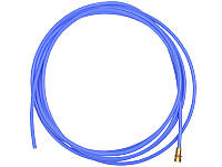 Тефлоновый подающий канал синий для полуавтомата синий, 3,2-х метровый (диаметр 0,8-1,0)