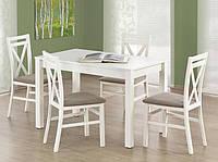 Деревянный белый стол Halmar Ksawery