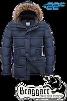"Куртка зимняя Braggart ""Dress Code"" капюшон с мехом (3 цвета)"