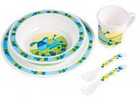 Набор посуды Canpol Babies 4/401, ослик (4/401-1)