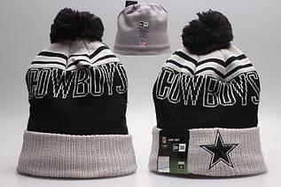 Шапка зимняя Dallas Cowboys / SPK-257 (Реплика)
