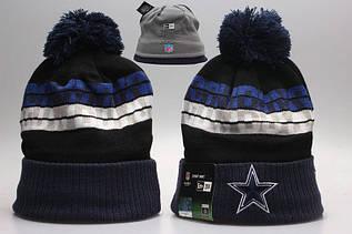 Шапка зимняя Dallas Cowboys / SPK-258 (Реплика)