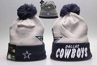 Шапка зимняя Dallas Cowboys / SPK-259 (Реплика)