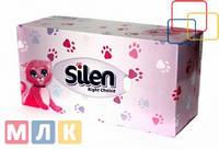 Silen Салфетка гигиеническая 2-х слойная в коробке, 150 шт