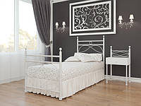 Кровать Vicenza / Виченца 1180х950х2060мм Металл-дизайн BellaLetto  90 металлическая