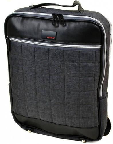 Городской рюкзак 10 л нейлон Lanpad 3002 grey, серый