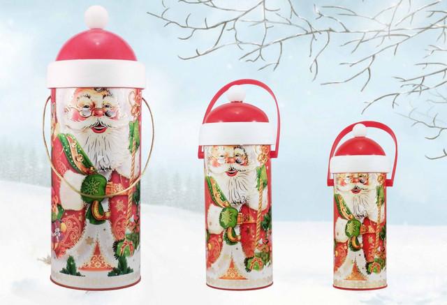 Новогодний тубус Дед Мороз
