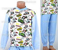 Детская пижама на мальчика интерлок AYL D28 6-R. Размер на 6 лет.