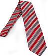Актуальный мужской широкий галстук SCHONAU & HOUCKEN (ШЕНАУ & ХОЙКЕН) FAREPS-69 красный, фото 2