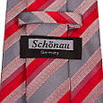 Актуальный мужской широкий галстук SCHONAU & HOUCKEN (ШЕНАУ & ХОЙКЕН) FAREPS-69 красный, фото 3