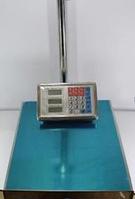 Весы торговые ACS 150kg 40*50 Fold Domotec 6V с железной головой