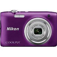 Цифровая фотокамера Nikon Coolpix A100 Purple (VNA973E1)