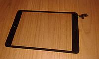 Сенсор iPad mini / mini 2 черный со шлейфом и кнопкой Home