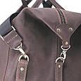 Кожаная сумка дорожная большая С-4 коричневая, фото 8