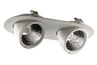Светильник врезной PIXEL2 GLR155Rx2/70W 24°/40°/, 3000K/4000K/5000K