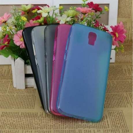 Чехлы силиконовые S-TELL M555 голубой цвет