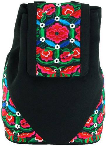 Городской красивый рюкзак из полиэстера 12 л. Traum 7216-61, черный