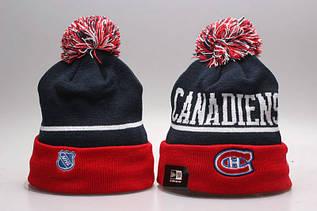 Шапка зимняя Montreal Canadiens / SPK-279 (Реплика)
