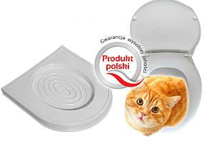 Накладка на унитаз для учебы кота Mru Mru