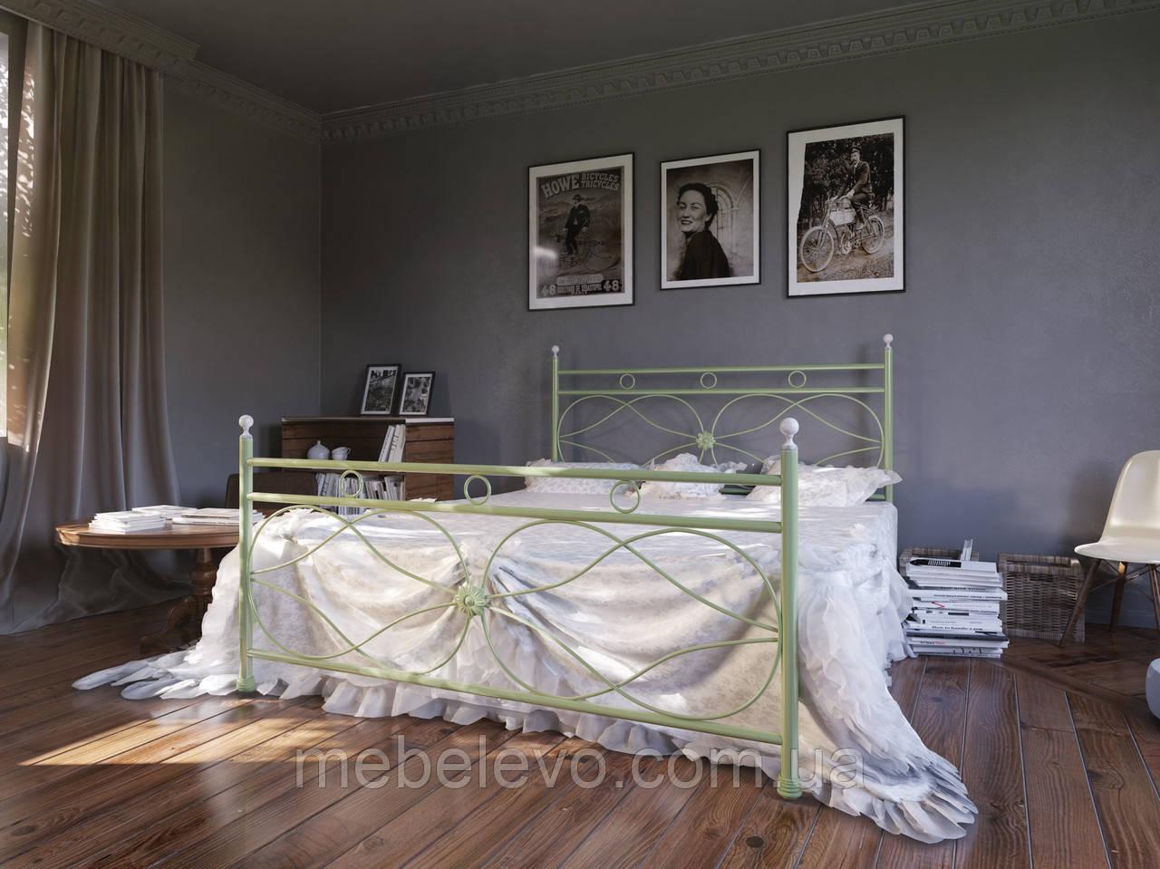 Кровать двуспальная Vicenza / Виценза 180 Металл-дизайн BellaLetto