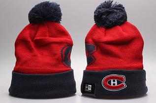 Шапка зимняя Montreal Canadiens / SPK-280 (Реплика)