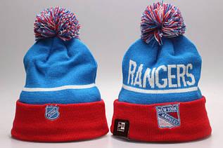 Шапка зимняя New York Rangers / SPK-281 (Реплика)