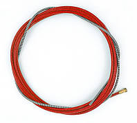 Направляющая спираль для полуавтомата красная, 3,2-х метровый (диаметр 1,0-1,2)