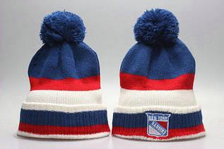 Шапка зимняя New York Rangers / SPK-282 (Реплика)