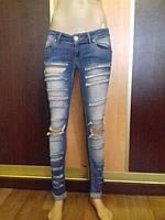 Стильные джинсы (бойфренды) A.M.N Madness National