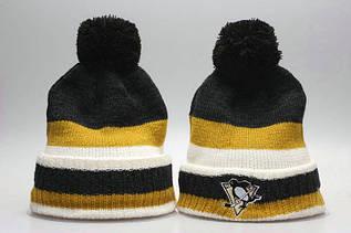 Шапка зимняя Pittsburgh Penguins / SPK-284 (Реплика)