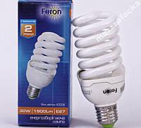 Экономка 30w лампа энергосберигающая 30W E27 ELT19