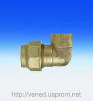 """Трубное угловое соединение для полиэтиленовых труб 3/ 4""""х25 (г-ц)"""