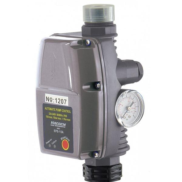 Автоматика для насосов с защитой от сухого хода пресс контроль EPS-15A Насосы+