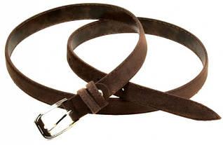 Ремень Женский кожзам H2110-2 brown, коричневый, ДхШ: 100х2 см
