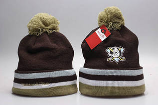 Шапка зимняя Mighty Ducks / SPK-286 (Реплика)
