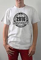 "Мужская футболка ""University"""