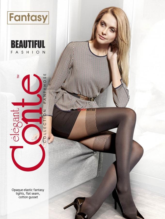 Колготки жіночі Conte Fantasy Beautiful 50 Den (Конте Фентезі Б'ютіфул 50 ден), розмір 2-4, Білорусія