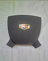 Накладка заглушка на подушку безопасности водителя Geely Emgrand 7