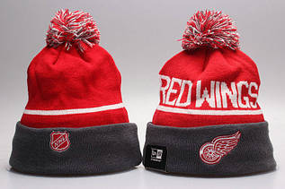 Шапка зимняя Detroit Red Wings / SPK-289 (Реплика)