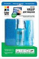 Чистящий набор ColorWay (CW-4130)  3 в 1 чистящие салфетки, спрей,кисточка