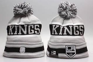 Шапка зимняя Los Angeles Kings / SPK-292 (Реплика)