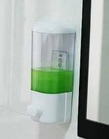 Диспенсер дозатор для жидкого мыла настенный автоматический податчик моющих средств шампуня с присосками